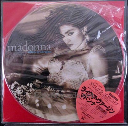 madonna like a virgin japan picture disc
