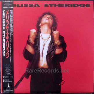 melissa etheridge - japan lp