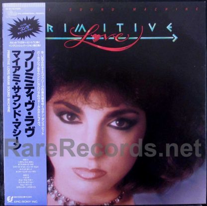 miami sound machine - primitive love japan LP