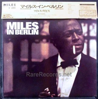 miles davis - miles in berlin japan lp