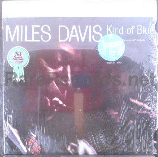 miles davis - kind of blue japan lp