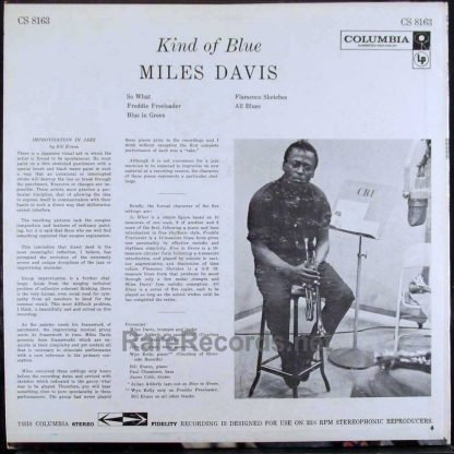 miles davis - kind of blue 1959 LP