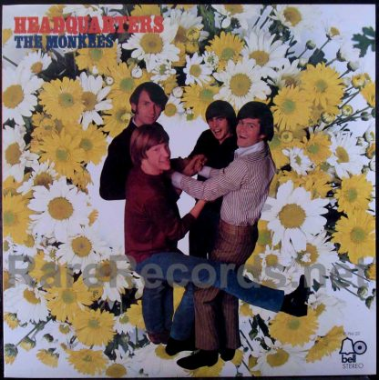 monkees - headquarters flowers japan lp