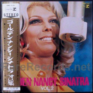 nancy sinatra - golden nancy sinatra volume 2 japan lp