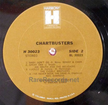 neil diamond - chartbusters LP