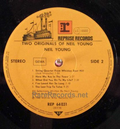 neil young - two originals german lp