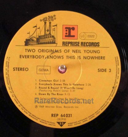 neil young - two originals german lp