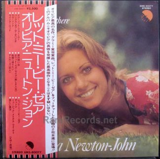 olivia newton-john - let me be there japan lp
