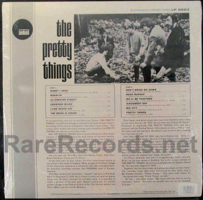 pretty things - pretty things colored vinyl sundazed lp