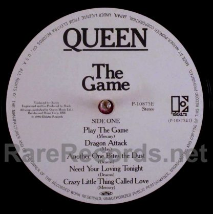 queen - the game japan lp