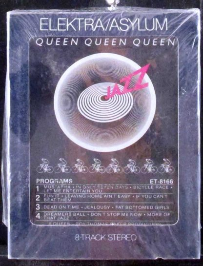 queen - jazz 8 track tape