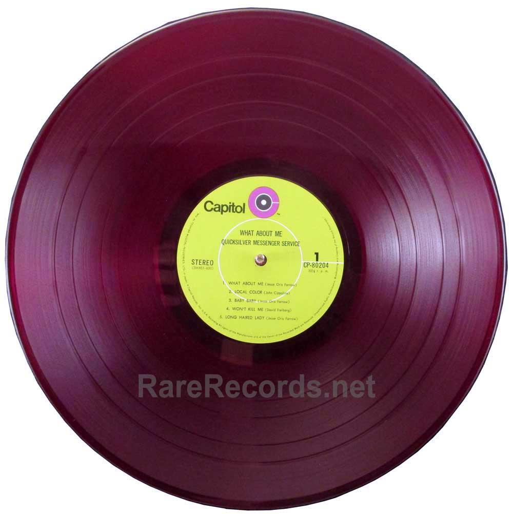 Quicksilver Messenger Service what about me Japan red vinyl