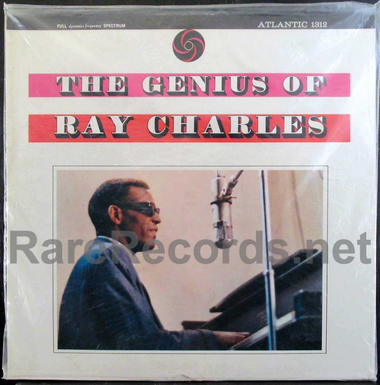 ray charles - the genius of ray charles U.S. lp