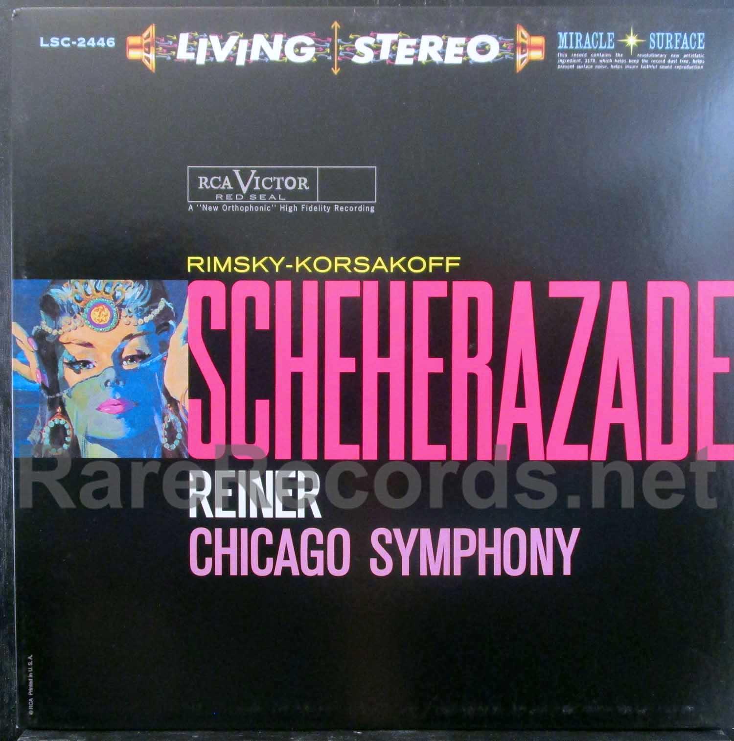 reiner/cso - scheherazade classic records test pressing LP