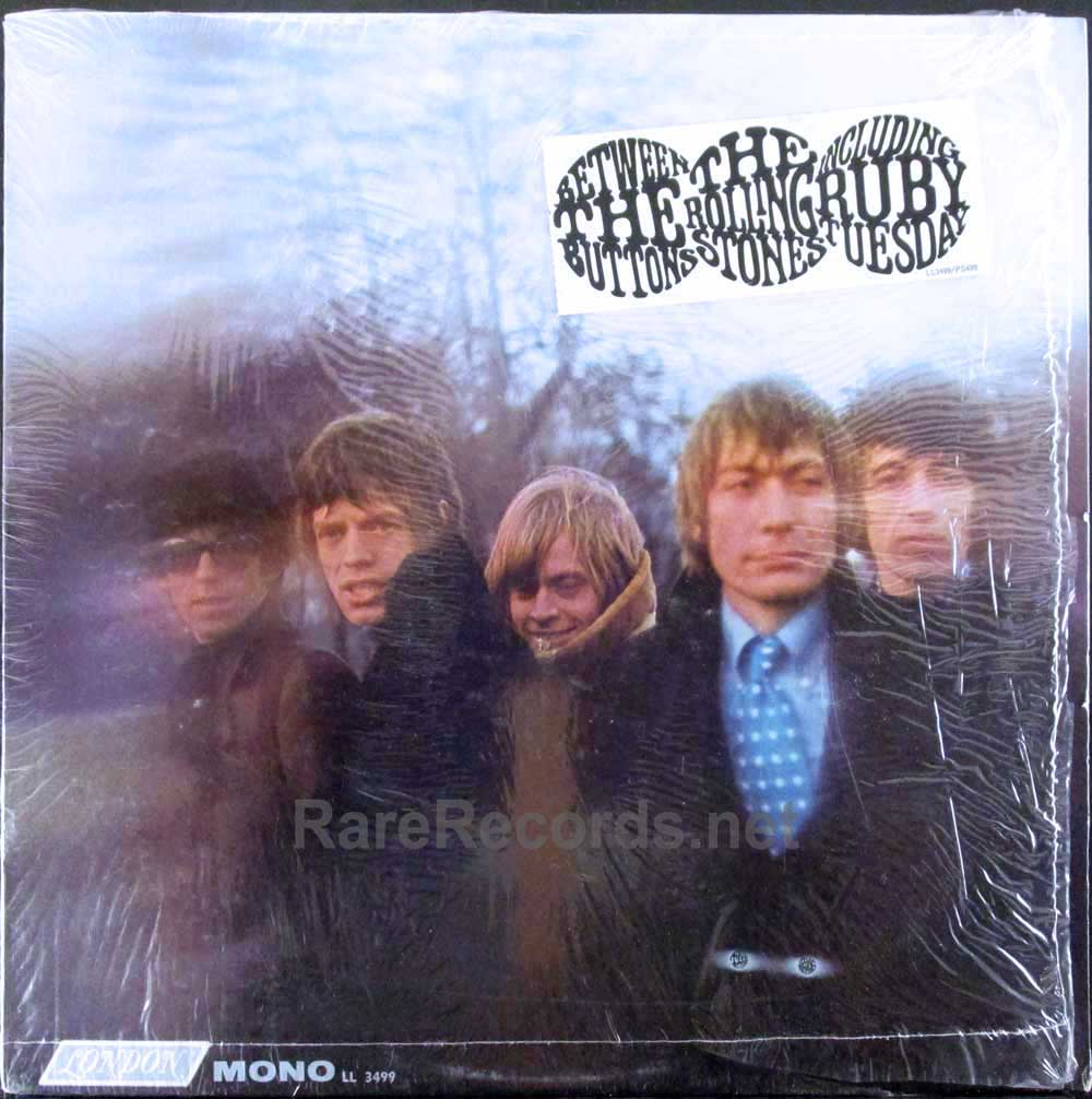 rolling stones - between the buttons sealed mono lp