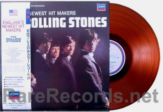 rolling stones - england's newest hitmakers orange vinyl japan lp