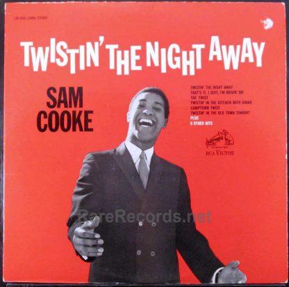 sam cooke - twistin' the night away stereo lp