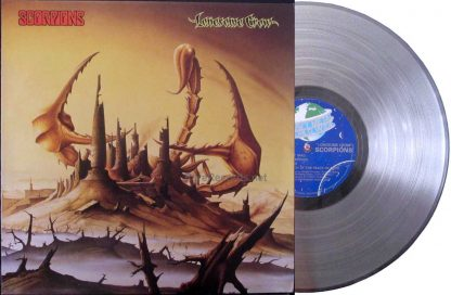 scorpions - lonesome crow clear vinyl UK LP