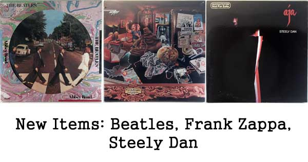rare records, beatles, frank zappa, steely dan